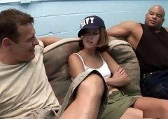 Hottest pornstar Trisha Rey in crazy interracial, swallow porn video