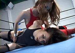 POV wet cheerleaders anime