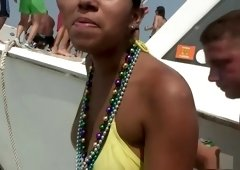 Exotic pornstar in crazy blonde, brunette porn video