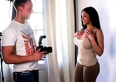 MAGMA FILM Busty Latina picked up and tricked into