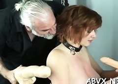 Extreme servitude video with cutie obeying the dirty play