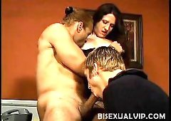 Lena Ramon got so excited when she saw her bisexual boss