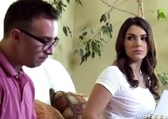 Tugjob sex video featuring Keiran Lee and Valentina Nappi